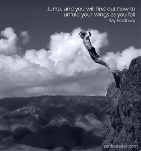 Jump and You Will Find Out